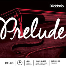 D'Addario Prelude (Steel Core) 4/4 Cello - Single String A