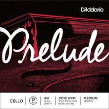 D'Addario Prelude (Steel Core) 4/4 Cello - Single String D