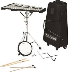 Ludwig Bell Set with Rolling Bag