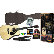 Yamaha Gigmaker Deluxe Acoustic Guitar Package (Natural)