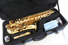 *Certified Pre-Owned* Buffet Crampon Professional Eb Alto Saxophone - 400 Series (Lacquer Finish)