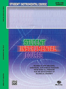 Belwin Student Instrumental Course Method Book 1 for Bass Clarinet
