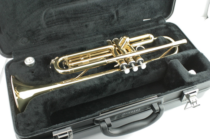 Certified pre owned yamaha advantage bb trumpet ytr for Yamaha student trumpets