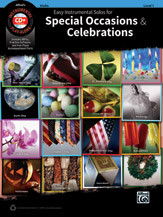 Easy Instrumental Solos for Special Occasions & Celebrations - Clarinet