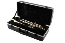 Expected Release Date 11/1/17(Pre-Order Only) - LJ Hutchen Bb Trumpet Package - 2-Year Warranty