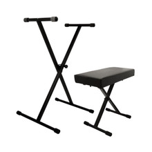 On-Stage KPK6500 Keyboard Stand and Bench Package