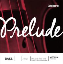 D'Addario Prelude Bass Single String - Medium