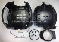 44324 - FISHER COVER ASSEMBLY EXTREME V LOGO