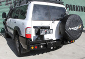 DUAL SPARE WHEEL CARRIER (GU PATROL SERIES 1,2,3 97-2004)