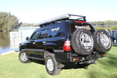 Dual Spare wheel carrier (100 Series Landcruiser IFS)