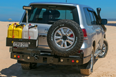 Dual Spare wheel carrier (200 Series Landcruiser IFS)