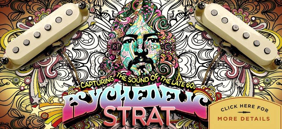 Psychedelic Strat - Custom Guitar Pickups