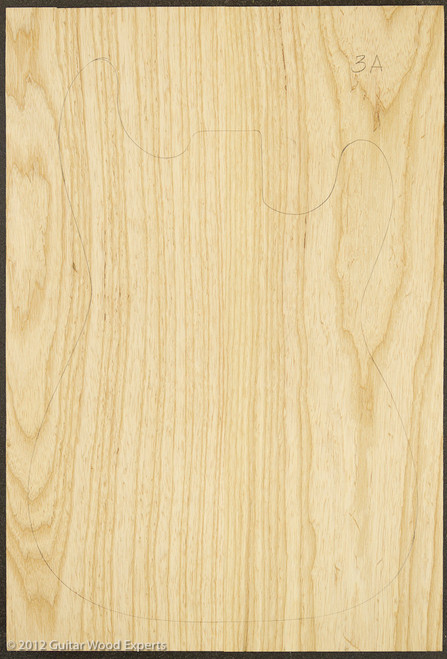 Swamp Ash Body Blank - Two Piece - 3A