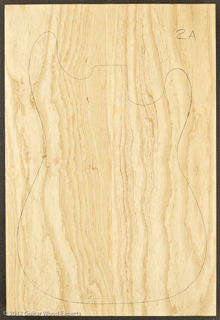 Swamp Ash Body Blank - 2 Piece - 2A