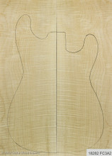 3A Flame Maple Carve Top