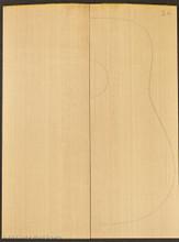 2A Sitka Spruce Soundboard