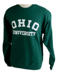 Ohio University Crew Sweatshirt, Green