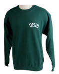 OHIO Crew Sweatshirt, Hunter Green
