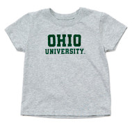 Ohio University Toddler T-Shirt, Grey