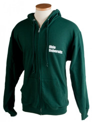 Ohio University SPJ J--rnalism Full-Zip Hooded Sweatshirt