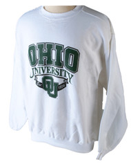 90s Ohio University w/ Ribbon Crew Sweatshirt