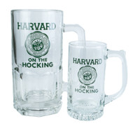 Harvard on the Hocking Glass Tankards