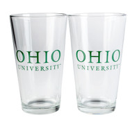 Ohio University Pint Glass Set