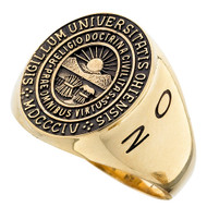 Ohio University Ring - Official Signet, Gold