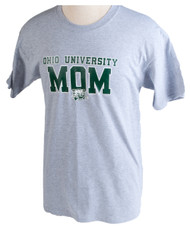 Ohio University Mom Grey T-Shirt