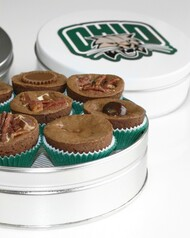Ohio University Brownies, Small Tin
