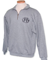 SAB Quarter-Zip Grey Pullover