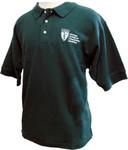 OU-HCOM Men's Green Polo