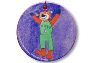 "2012 Passion Works Studio ""Rufus"" Ornament"