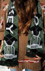 OHIO Hockey Scarf