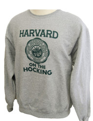 Harvard on the Hocking Crew Sweatshirt