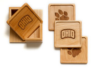 OHIO Coasters (Set of 4)