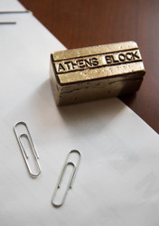 Athens Block Paperweight
