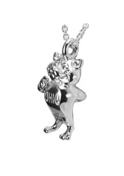 Full Body Bobcat Necklace