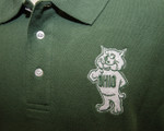 Men's Bobcat Polo - logo detail