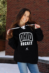 OHIO Hockey Skate Lace-Up Hoodie-Easton