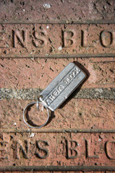 Athens Block Key Chain
