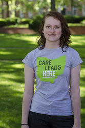 "OU-HCOM ""Care Leads Here"" Shirt"