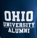 Navy Ohio University Alumni Hooded Sweatshirt Zoom
