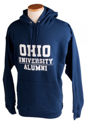 Navy Ohio University Alumni Hooded Sweatshirt