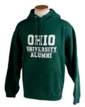 Green Ohio University Alumni Hooded Sweatshirt