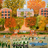 Homecoming at Ohio University by Betsy Ross Koller - Artist Proof