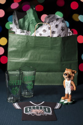 Recapture the excitement of attending games on Ohio University's campus with this Bobcat Sports Fan Gift Set.