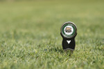 Included in all Gift Sets.      Ball marker features the Ohio University Attack Cat on one side and the Arched Ohio on the other. Ball marker magnetically held in place. Divot repair tool feature. Durable one piece solid metal construction.