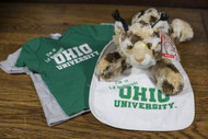 Baby Bobcat Fan Gift Set