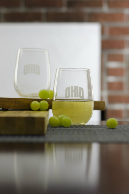 White Stemless Glasses